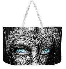 Behind Blue Eyes Weekender Tote Bag