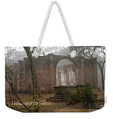 Behind Old Sheldon Church Weekender Tote Bag