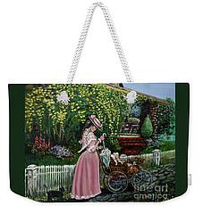 Behind The Garden Gate Weekender Tote Bag