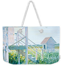 Behind The Town Hall Weekender Tote Bag