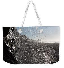 Behind The Waterfall Weekender Tote Bag by Richard Brookes