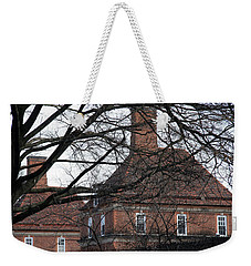 The British Ambassador's Residence Behind Trees Weekender Tote Bag by Cora Wandel