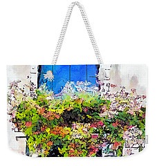 Weekender Tote Bag featuring the painting Bei Fiori by Greg Collins