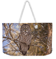 Being Observed Weekender Tote Bag by Eunice Gibb