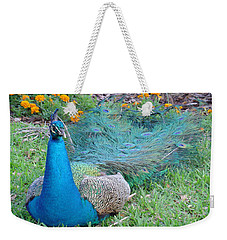 Weekender Tote Bag featuring the photograph Bejeweled  by David Nicholls