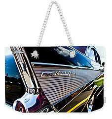 Weekender Tote Bag featuring the photograph Bel Air Reflections by Joann Copeland-Paul