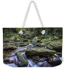 Weekender Tote Bag featuring the photograph Belelle River Neda Galicia Spain by Pablo Avanzini