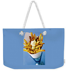 Belgian Fries With Mayonnaise On Top Weekender Tote Bag