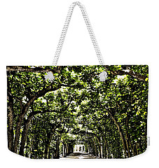 Weekender Tote Bag featuring the photograph Believes ... by Juergen Weiss