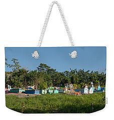 Belize Cemetery Weekender Tote Bag