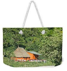 Belize House Weekender Tote Bag
