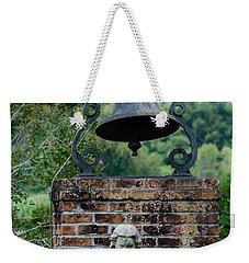 Bell Brick And Statue Weekender Tote Bag
