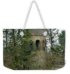 Weekender Tote Bag featuring the digital art Bell Tower by Jeannie Rhode