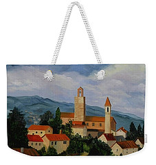 Bell Tower Of Vinci Weekender Tote Bag