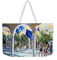 Bellagio Kite Flight Weekender Tote Bag