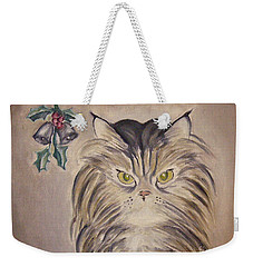 Belle With Silver Bells Weekender Tote Bag