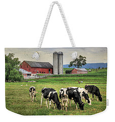 Belleville Cows Weekender Tote Bag