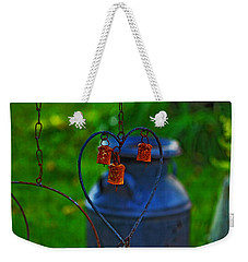 Weekender Tote Bag featuring the photograph Bells by Rowana Ray