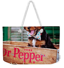 Belly Laugh Weekender Tote Bag by Sennie Pierson