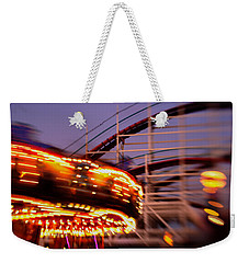 Did I Dream It Belmont Park Rollercoaster Weekender Tote Bag