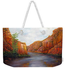 Below The Rim Weekender Tote Bag
