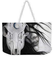 Weekender Tote Bag featuring the painting Beltane by Pat Erickson
