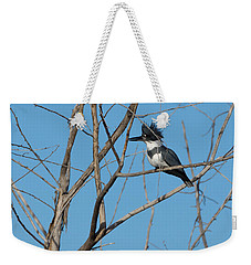 Belted Kingfisher 4 Weekender Tote Bag