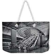 Beneath The Surface Of Reality Weekender Tote Bag by Evelina Kremsdorf
