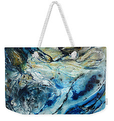 Beneath The Surface Weekender Tote Bag by Valerie Travers