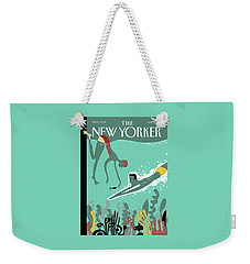 Beneath The Waves Weekender Tote Bag