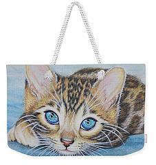 Bengal Kitten Weekender Tote Bag