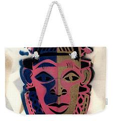 Benin Mask Weekender Tote Bag
