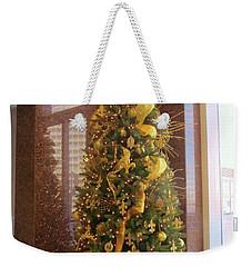 Benson Towers - Fleur De Lis Tree - New Orleans La Weekender Tote Bag by Deborah Lacoste