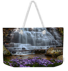 Benton Falls In Spring Weekender Tote Bag
