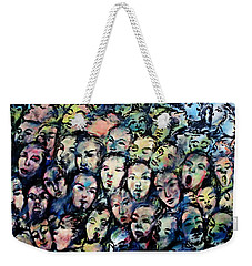 Berlin Wall Graffiti  Weekender Tote Bag
