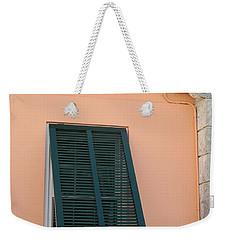 Bermuda Shutters Weekender Tote Bag by Ian  MacDonald