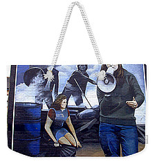 Bernadette Devlin Mural Weekender Tote Bag