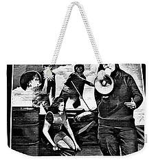 Bernadette Mural Weekender Tote Bag by Nina Ficur Feenan