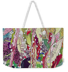 Berries And Cactus Weekender Tote Bag