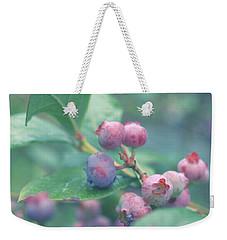 Berries For You Weekender Tote Bag by Rachel Mirror