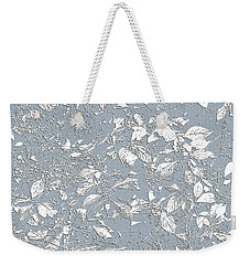 Berry Branch Blue Weekender Tote Bag by Ellen O'Reilly
