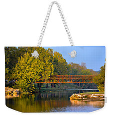 Berry Creek Bridge Weekender Tote Bag