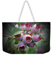 Berry Unripe Weekender Tote Bag by MTBobbins Photography