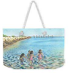 Best Friends Weekender Tote Bag by Troy Levesque