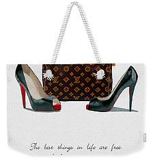 Best Things In Life 2nd Edition Weekender Tote Bag