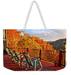 Best View In Town  Weekender Tote Bag