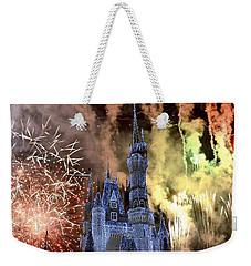 Christmas Wishes Weekender Tote Bag by Carol  Bradley