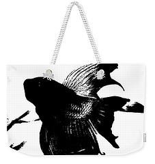 Beta In Black And White Weekender Tote Bag