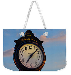 Bethany Beach Clock Weekender Tote Bag