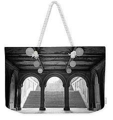Bethesda Passage Central Park Weekender Tote Bag